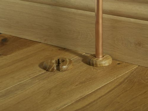 Wood Effect Pipe Roses 15mm